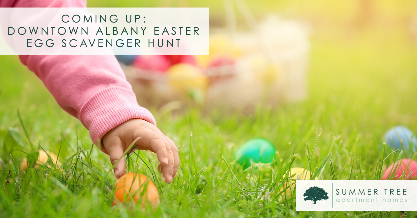 Coming Up: Downtown Albany Easter Egg Scavenger Hunt