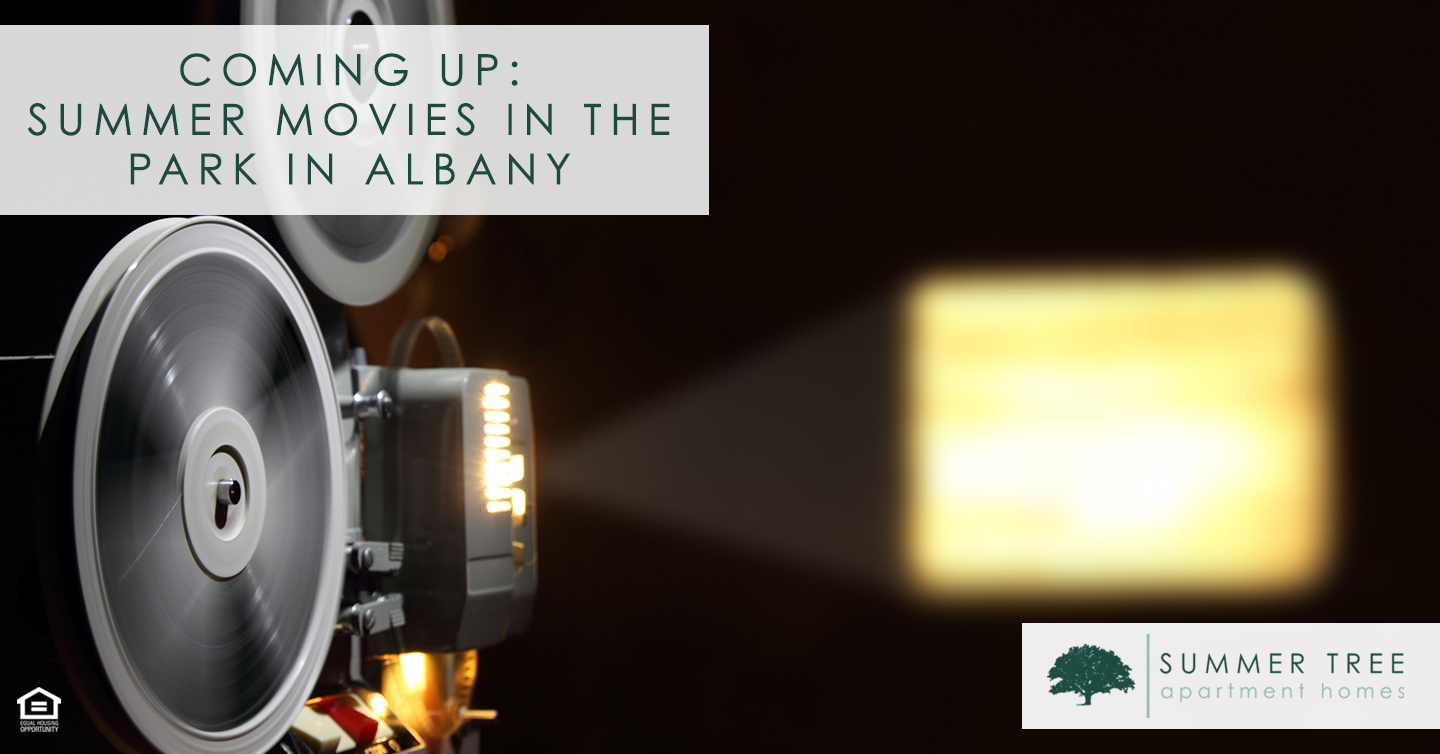 Coming Up: Summer Movies in the Park in Albany